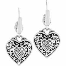 heart ear rings images Reno heart reno heart leverback earrings earrings jpg