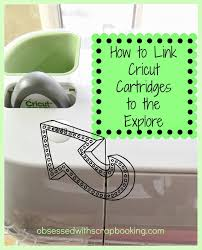 Link Gypsy To Cricut Craft Room - obsessed with scrapbooking video how to link cricut cartridges