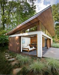 great west coast guest house architecture u003e compact and modern