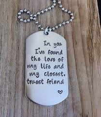 custom tag sted quote gift for him