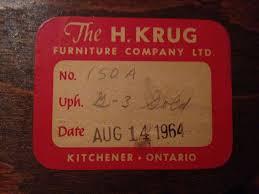 krug furniture kitchener freshly upholstered mid century modern chairs