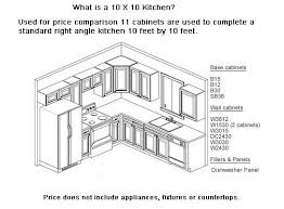 Kitchen Cabinet Price Comparison 12 X 6 Kitchen Layout And Layout Above You Will See A Basic