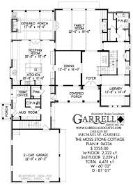 moss stone cottage house plan house plans by garrell associates