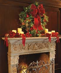 How To Decorate A Mantel For Christmas Fireplace Mantel Decorations For Christmas Photograph Gorg