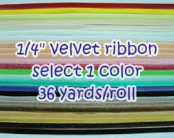 velvet ribbon wholesale 1 roll 36 yards 1 2 velvet ribbon wholesale velvet