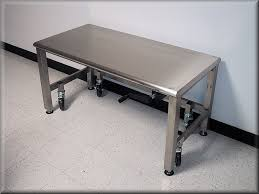 Stainless Stee Adjustable Height Stainless Steel Carts U0026 Tables Rdm Industrial