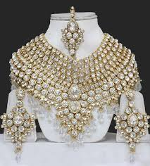 bridal indian necklace set images Indian jewelry sets heavy bridal india jewellery sets shalwar jpg