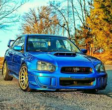 blue subaru wrx blue and gold can u0027t beat that on a subie subaru impreza wrx
