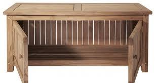 Outdoor Storage Bench Bench Open Storage Bench Unhurry Ottoman Seat With Storage