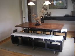 Dining Bench With Storage Great Stylish Dining Bench Ikea Pertaining To Home Prepare