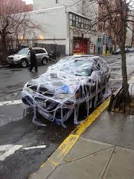 wrapped toilet paper ev grieve ok who wrapped this car with toilet paper on east 2nd