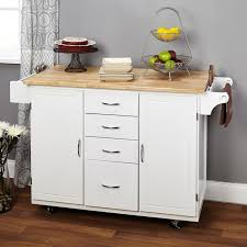 kitchen u0026 dining white wooden kitchen island with natural wood