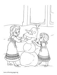 30 free frozen colouring pages