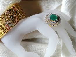 stone finger rings images Indian finger ring jade solitaire with white stones circle ethnic png