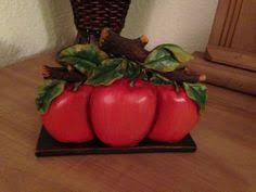 Country Apple Decorations For Kitchen - 3 piece apple sconce set from through the country door home