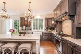 Rate Kitchen Cabinets Staining Kitchen Cabinets Rustic With Red Stained In Gas And