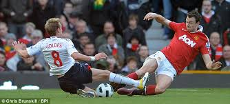 Challenge Injury Stuart Holden Forgives Jonny For Horror Challenge Which