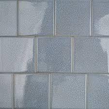 roman brisk blue 4x4 glass tile