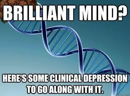 depression meme intelligence and mental illness a beautiful mind