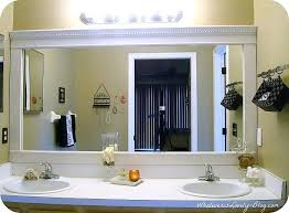 framed bathroom mirror ideas framed bathroom mirror ideas sebastianwaldejer