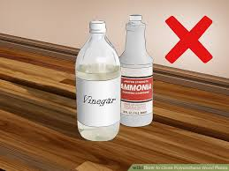 clean polyurethane 4 ways to clean polyurethane wood floors wikihow
