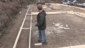 How To Build A Floor For A House How To Build A House Pouring The Footing Ep 18 Youtube