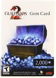 amazon com guild wars 2 gem card pc video games