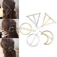s hair accessories women fashion korean style triangle moon hairpin hair clip hair