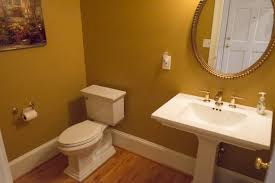 Orange Powder Room Powder Room Roswell Georgia