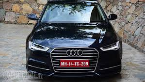 audi a6 india 2015 audi a6 matrix 35tdi drive review overdrive