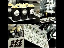 Black And White Party Ideas Youtube Black And White Party