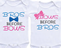 baby gift onesie for boy twinstwins