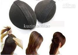 hair puff accessories retail fashion beauty product hair puff paste heightening princess