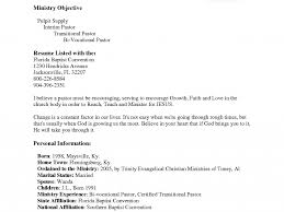 Pastors Resume Sample by Amazing Inspiration Ideas Ministry Resume Templates 13 Church