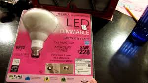 costco led can lights led costco recessed can lighting vs cfl youtube