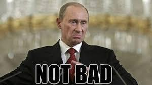 Vladimir Putin Meme - russian president vladimir putin gives australia 3 stars