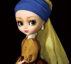 earring girl pullip girl with a pearl earring