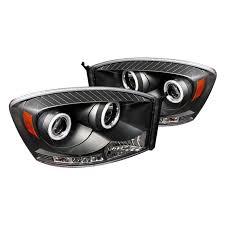 2006 dodge ram 2500 headlight bulb spyder dodge ram 1500 2500 3500 2006 2008 black halo