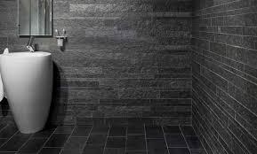 badezimmer schiefer schiefer fliesen im bad design ideen