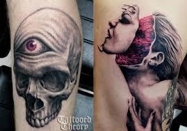 monsters and skulls the tattoos of javi antunez scene360