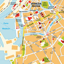 Map Of Florence Italy Livorno Italy Cruise Port Of Call