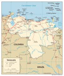 Political Map Of South America by Venezuela Political Map Political Map Of Venezuela Vidiani Com