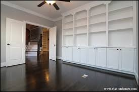 Built In Bookcase Designs Built In Bookcases New Home Builders In North Carolina