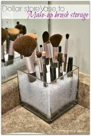 vase turned makeup brush holder makeup brush holders brush