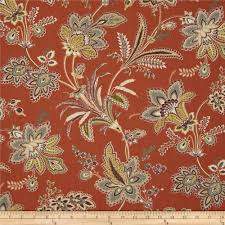 Waverly Home Decor Waverly Barano Terracotta Discount Designer Fabric Fabric Com