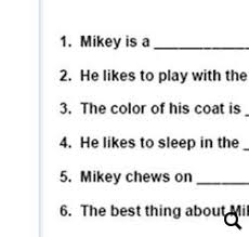 adjective worksheet for kindergarten adjective exercises for
