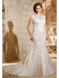 wedding dresses plus size uk mori 3188 soft sparkly lace plus size wedding gown ivory