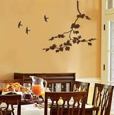 Home Wall Design Online by Appealing Wall Stencils For Bedrooms In India Decorative Wall