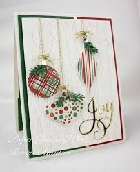 299 best ornament die punch cards images on