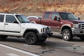jeep hurricane abrupt lane change leads to 3 car accident u2013 cedar city news